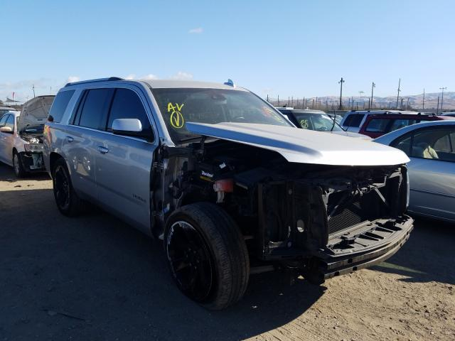Salvage cars for sale from Copart San Martin, CA: 2016 Chevrolet Tahoe C150