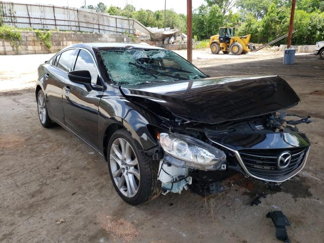 Salvage cars for sale from Copart Fairburn, GA: 2016 Mazda 6 Touring