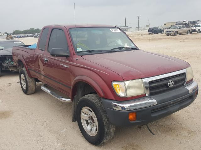 Salvage cars for sale from Copart San Antonio, TX: 2000 Toyota Tacoma XTR