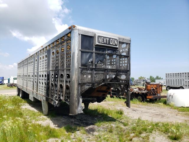 Salvage cars for sale from Copart Dyer, IN: 2009 EBY Livestock