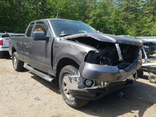 Salvage cars for sale from Copart Lyman, ME: 2008 Ford F150