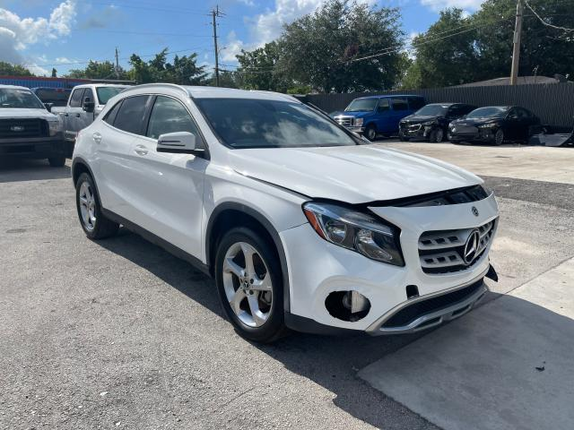 Salvage cars for sale from Copart Opa Locka, FL: 2019 Mercedes-Benz GLA 250