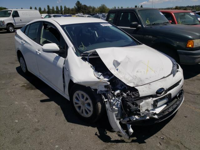 Salvage cars for sale from Copart Vallejo, CA: 2021 Toyota Prius Special