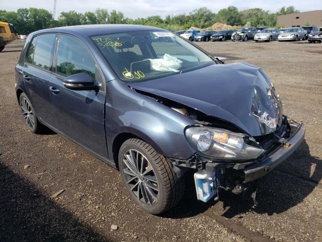 Volkswagen salvage cars for sale: 2012 Volkswagen Golf