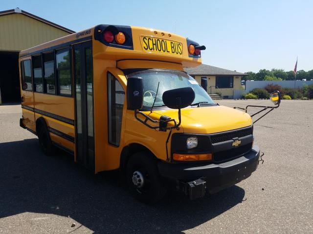 Salvage trucks for sale at Avon, MN auction: 2014 Chevrolet Express G3