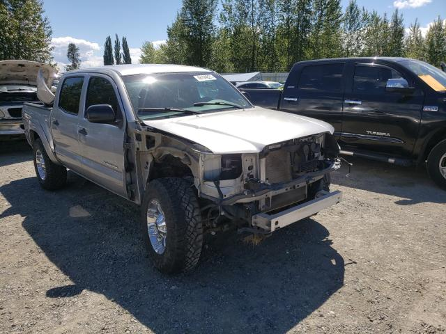 Salvage cars for sale from Copart Arlington, WA: 2014 Toyota Tacoma DOU