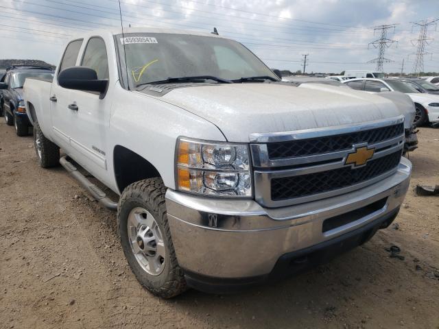 Salvage trucks for sale at Elgin, IL auction: 2013 Chevrolet Silverado