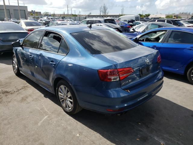 2015 Volkswagen Jetta Se 1.8L, VIN: 3VWD17AJ2FM354698, аукцион: COPART, номер лота: 45175461