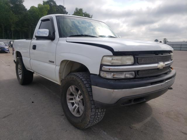 Salvage cars for sale from Copart Dunn, NC: 1999 Chevrolet Silverado