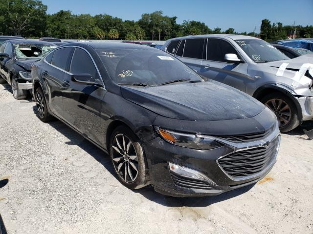 Salvage cars for sale from Copart Apopka, FL: 2020 Chevrolet Malibu RS