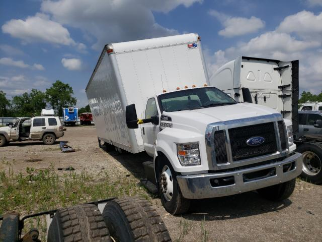 Salvage trucks for sale at Elgin, IL auction: 2018 Ford F650 Super
