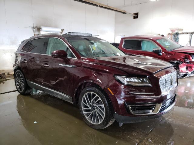 Lincoln Vehiculos salvage en venta: 2019 Lincoln Nautilus R