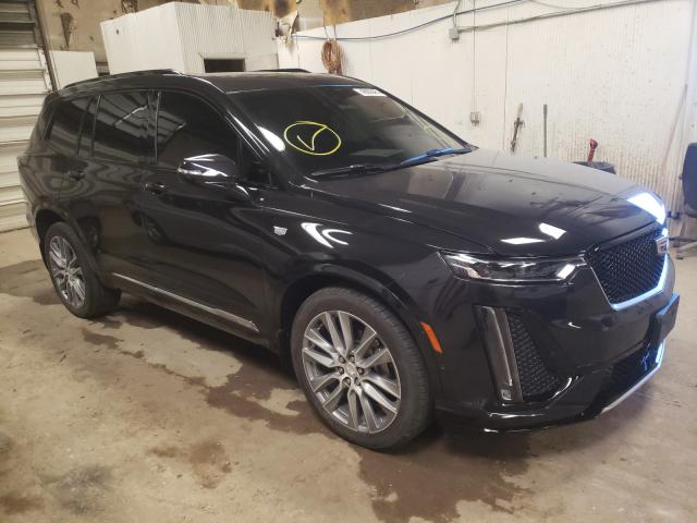 Salvage cars for sale from Copart Casper, WY: 2020 Cadillac XT6 Sport