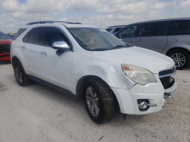 Salvage cars for sale from Copart San Antonio, TX: 2013 Chevrolet Equinox LT