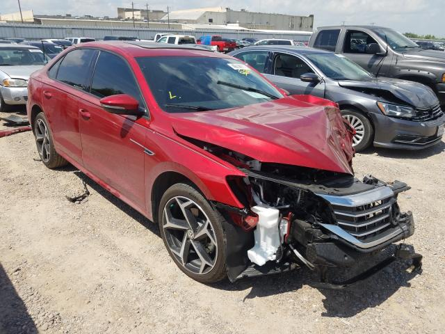 Salvage cars for sale from Copart Mercedes, TX: 2021 Volkswagen Passat R-L