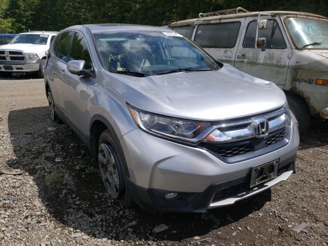 Vehiculos salvage en venta de Copart Graham, WA: 2018 Honda CR-V EXL