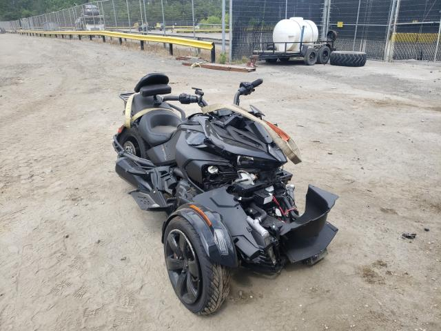Salvage cars for sale from Copart Waldorf, MD: 2021 Can-Am Spyder ROA