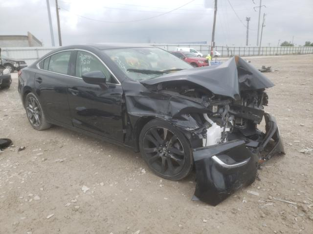Salvage cars for sale from Copart Columbus, OH: 2016 Mazda 6 Grand Touring