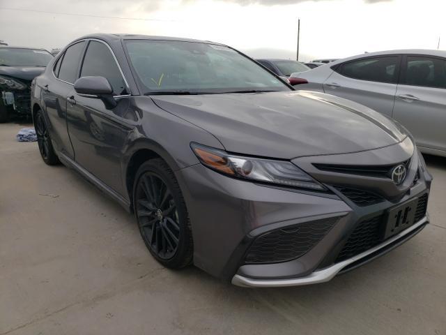 2021 Toyota Camry XSE en venta en Grand Prairie, TX