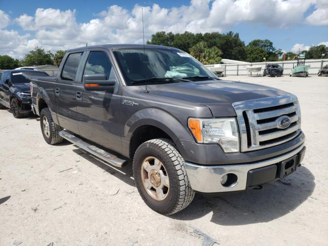 Salvage cars for sale from Copart Punta Gorda, FL: 2009 Ford F150 Super