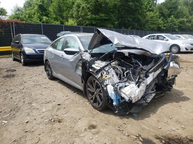 Salvage cars for sale from Copart Waldorf, MD: 2020 Honda Civic Sport