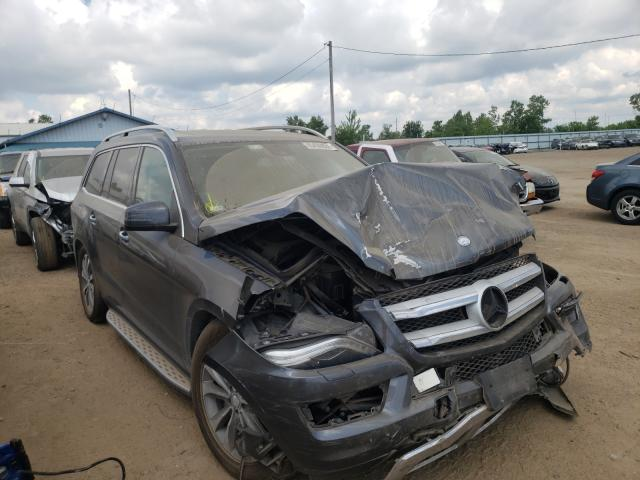 Salvage cars for sale from Copart Pekin, IL: 2013 Mercedes-Benz GL 450 4matic
