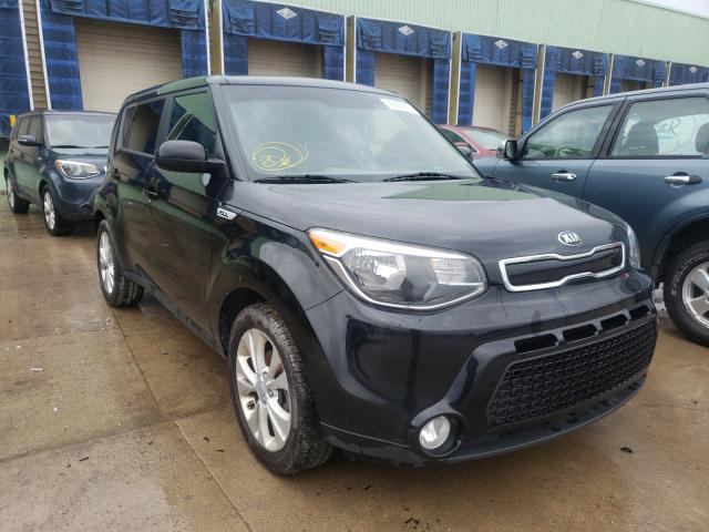Salvage cars for sale from Copart Columbus, OH: 2016 KIA Soul +