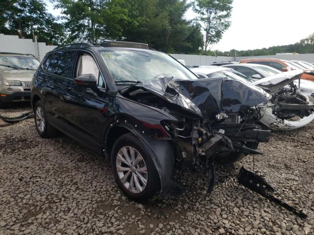 Salvage cars for sale from Copart New Britain, CT: 2019 Volkswagen Tiguan SE