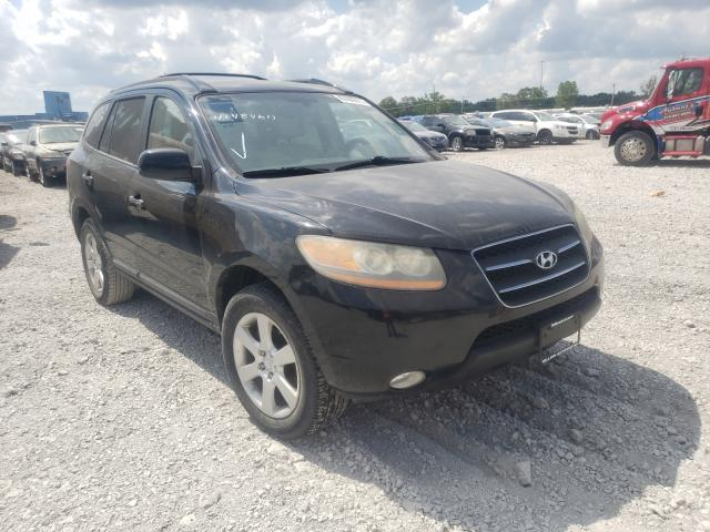 Salvage cars for sale from Copart Des Moines, IA: 2009 Hyundai Santa FE S