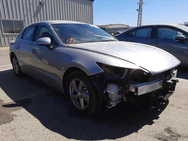 Salvage cars for sale from Copart Fresno, CA: 2021 Hyundai Sonata SE