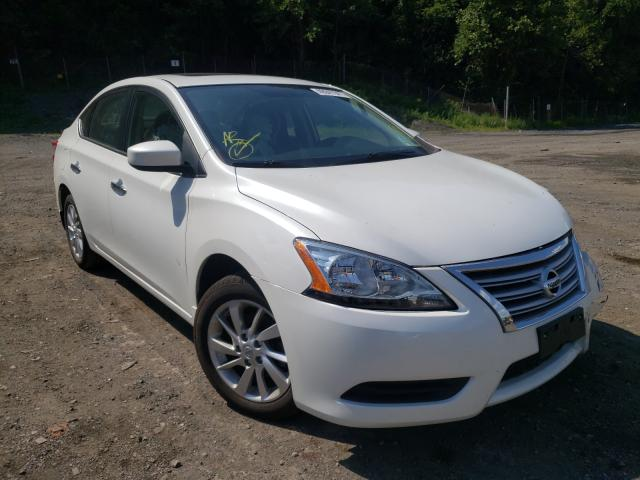 Salvage cars for sale from Copart Marlboro, NY: 2015 Nissan Sentra S