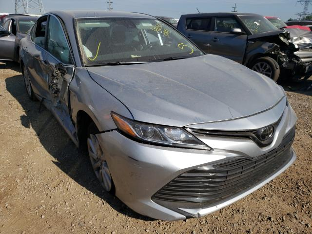 Salvage cars for sale from Copart Elgin, IL: 2020 Toyota Camry LE