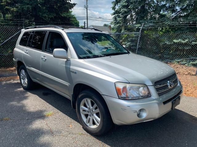 Salvage cars for sale from Copart New Britain, CT: 2007 Toyota Highlander
