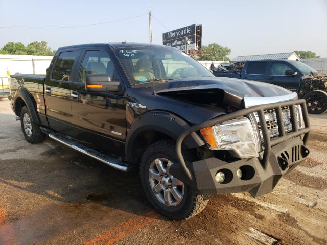 Salvage cars for sale from Copart Wichita, KS: 2013 Ford F150 Super