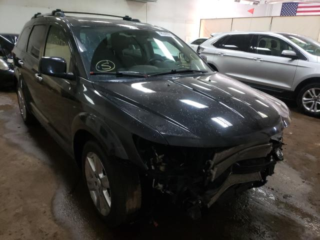 Salvage cars for sale from Copart Davison, MI: 2012 Dodge Journey R