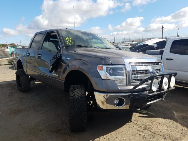 Salvage cars for sale from Copart San Martin, CA: 2014 Ford F150 Super