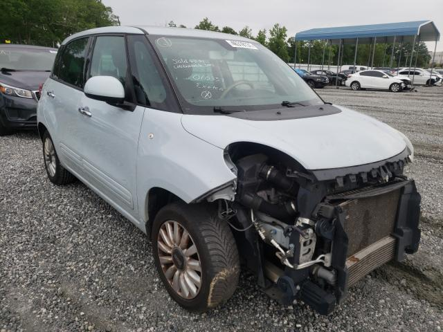 Salvage cars for sale from Copart Spartanburg, SC: 2014 Fiat 500L Easy