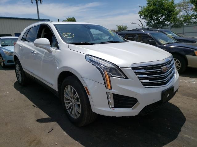 Salvage cars for sale from Copart Brookhaven, NY: 2018 Cadillac XT5 Luxury