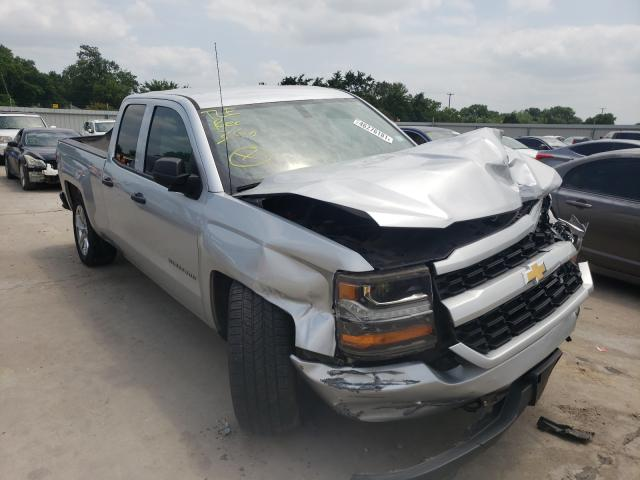 Salvage cars for sale from Copart Wilmer, TX: 2017 Chevrolet Silverado