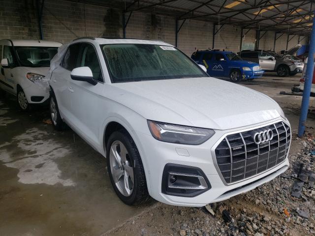 Audi salvage cars for sale: 2021 Audi Q5 Prestige