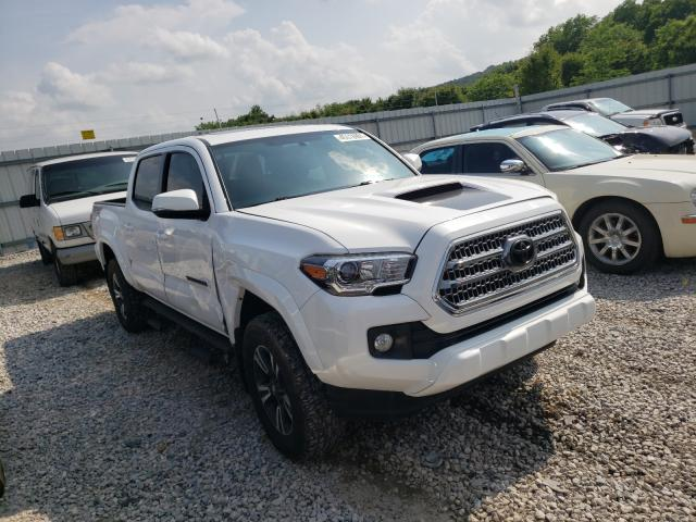 Salvage cars for sale from Copart Prairie Grove, AR: 2017 Toyota Tacoma DOU