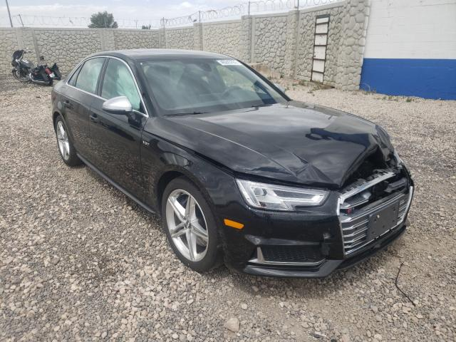 Audi A4 salvage cars for sale: 2018 Audi A4