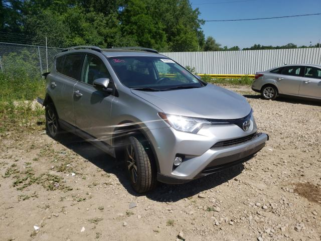Salvage cars for sale from Copart Madison, WI: 2016 Toyota Rav4 XLE