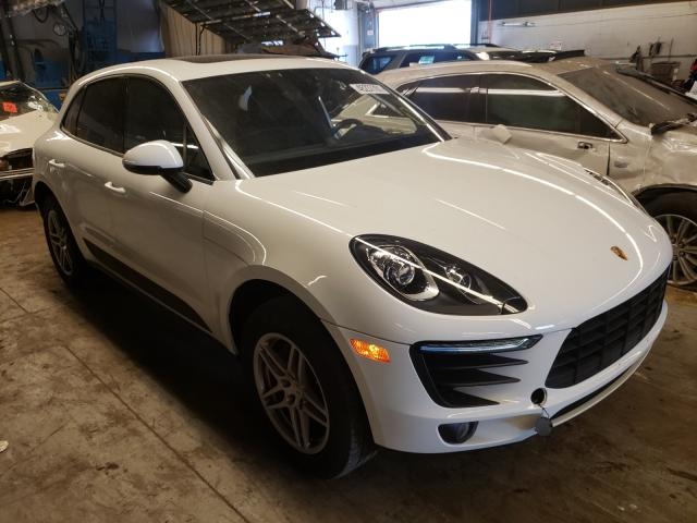 Salvage cars for sale from Copart Wheeling, IL: 2017 Porsche Macan