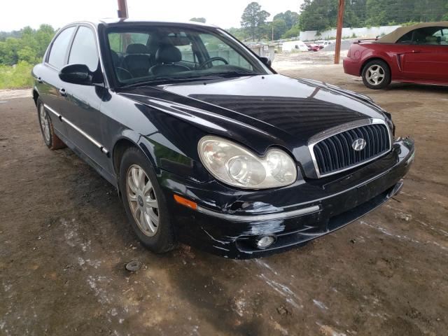 Salvage cars for sale from Copart Fairburn, GA: 2004 Hyundai Sonata GLS