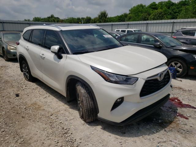 Salvage cars for sale from Copart Prairie Grove, AR: 2020 Toyota Highlander