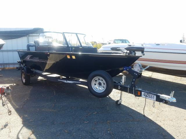 Salvage cars for sale from Copart Sacramento, CA: 2020 Lowe Boat
