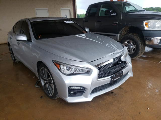 Salvage cars for sale from Copart Tanner, AL: 2015 Infiniti Q50 Base
