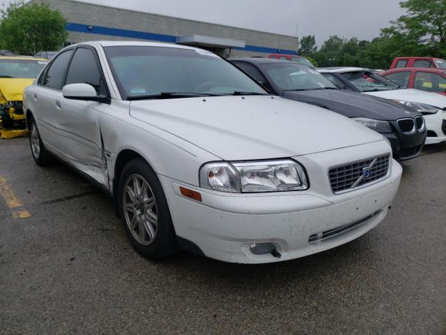 Volvo salvage cars for sale: 2005 Volvo S80 2.5T