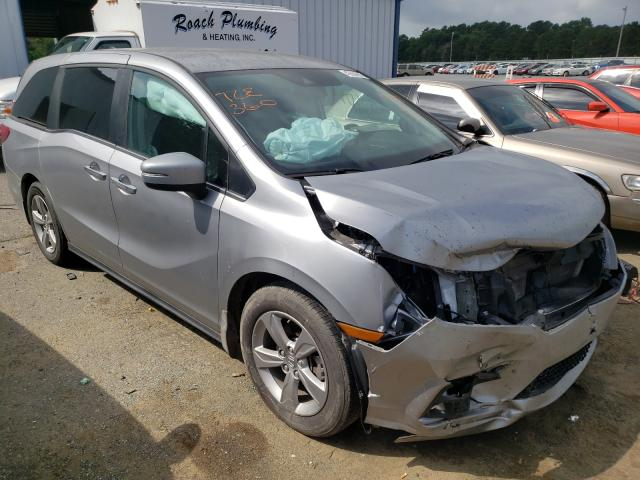 Salvage cars for sale from Copart Shreveport, LA: 2019 Honda Odyssey EX